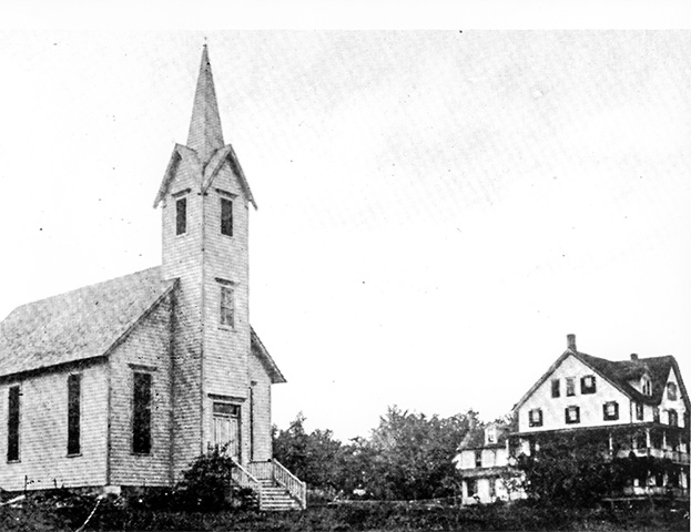 Mount Pocono United Methodist Church, circa 1910
